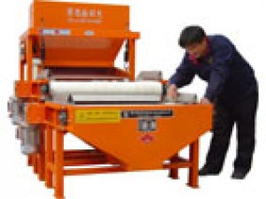 Two rollers strong magnetic separator